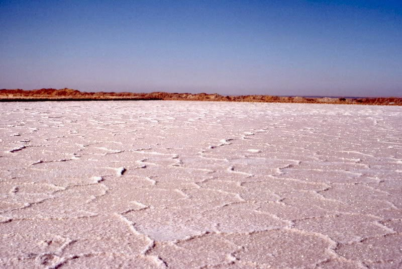 il deserto di sale in tunisia
